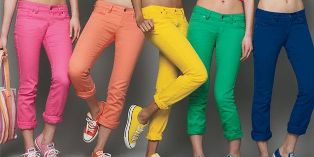 Jeans de Colores Triunfo