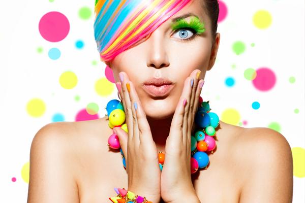 colores hermosos para las mujeres