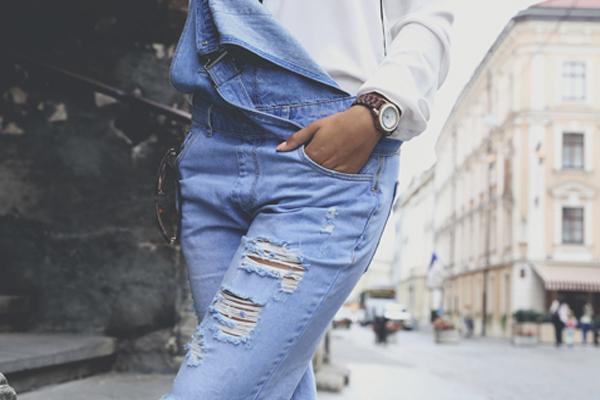 overol denim bacci jeans