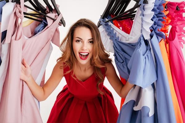 los vestidos de colores para mujeres