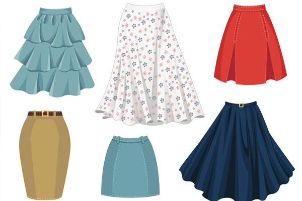 los vestidos y faldas infaltables en el closet