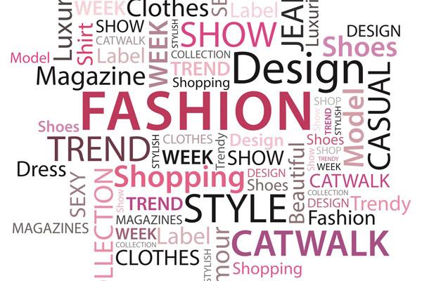 Glosario de palabras del mundo de la moda.