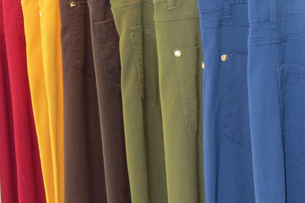 jeans de colores bacci